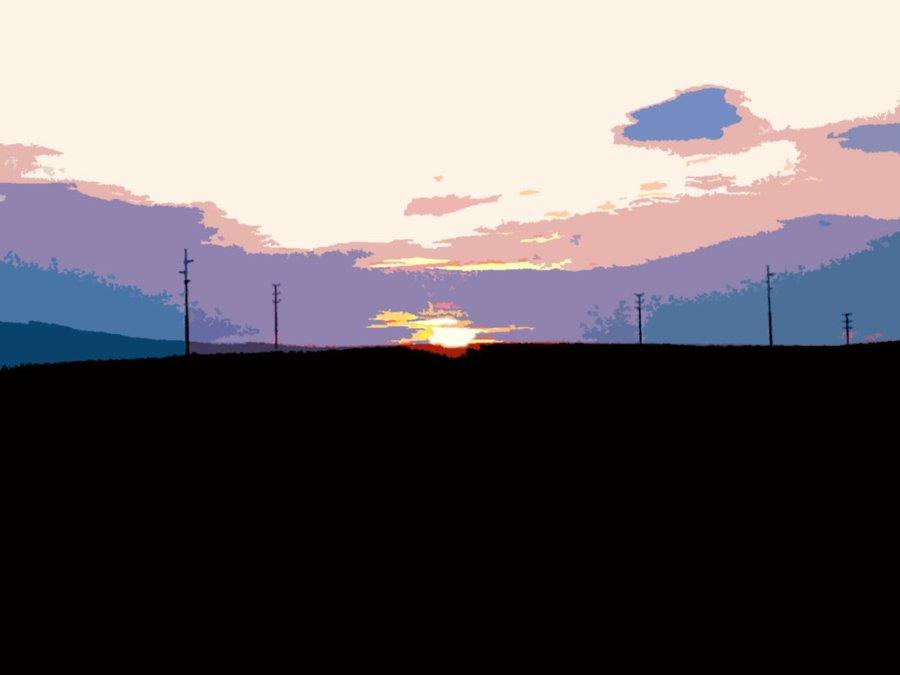 cartoon_sunset_by_mukiuki-d2y1uvr